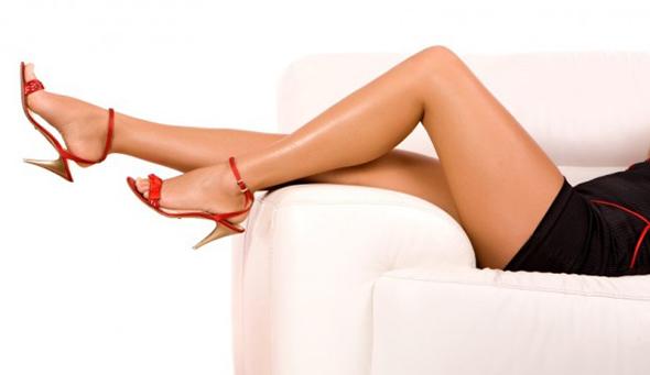 pernas bronzeadas